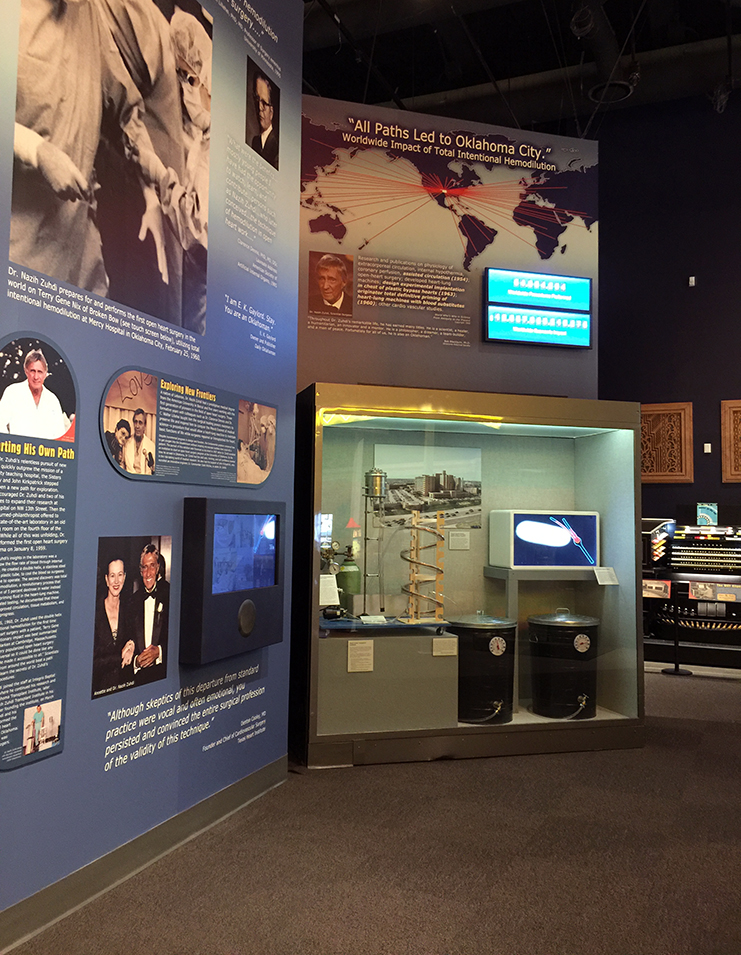 Interactive exhibits for museums
